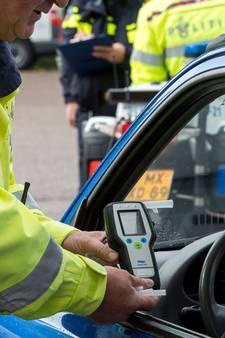 Veertien bestuurders dronken achter het stuur in Breda