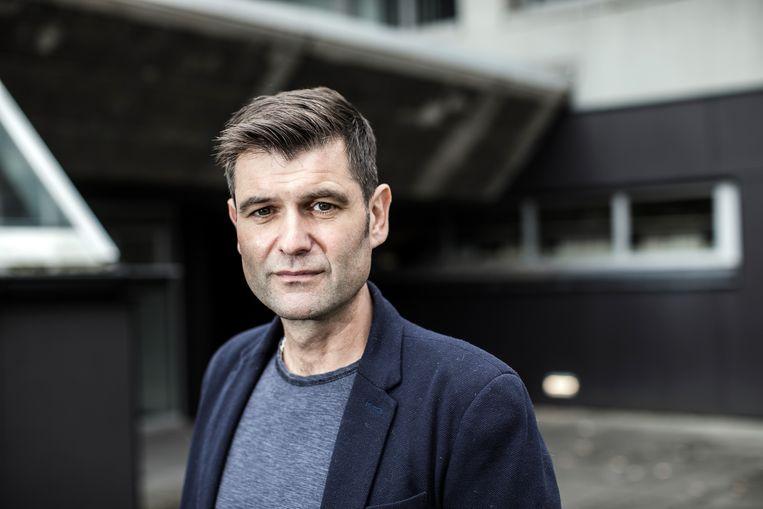 Surveillance-expert Peter Fussey: Beeld Bob Van Mol