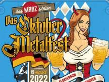 Oktober Metalfest in Klokgebouw uitgesteld naar maart 2022