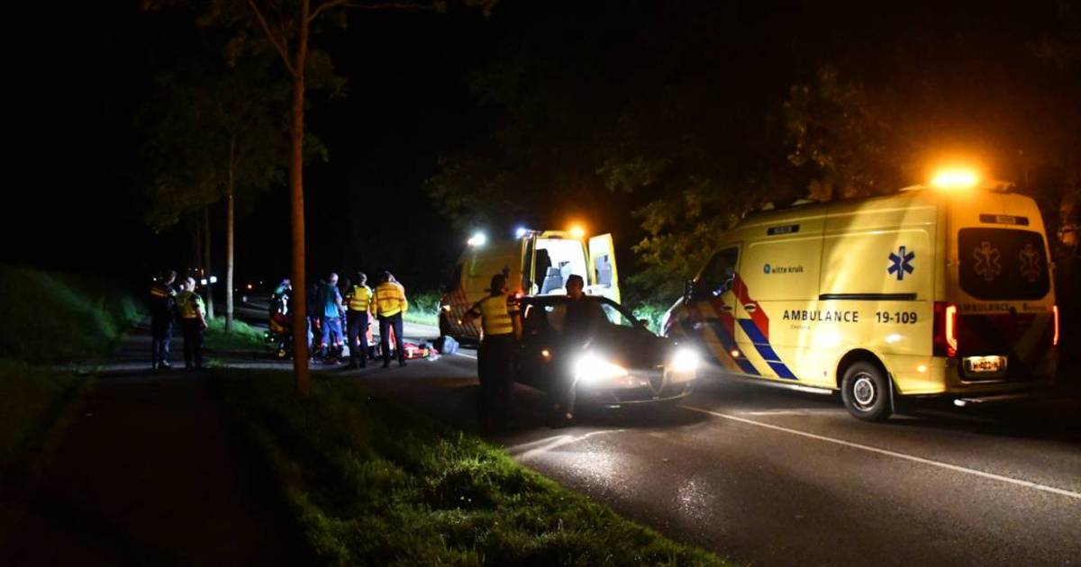 Voetganger aangereden door auto in Renesse: met traumahelikopter naar Rotterdam.