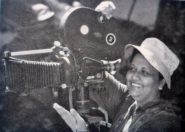 De Sri Lankaanse regisseur Sumitra Peries. Beeld