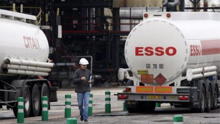 Bij de raffinaderij van Exxon Mobil in het Franse Fos-sur-Mer kan het werk na de staking weer opgepakt worden. ANP Beeld