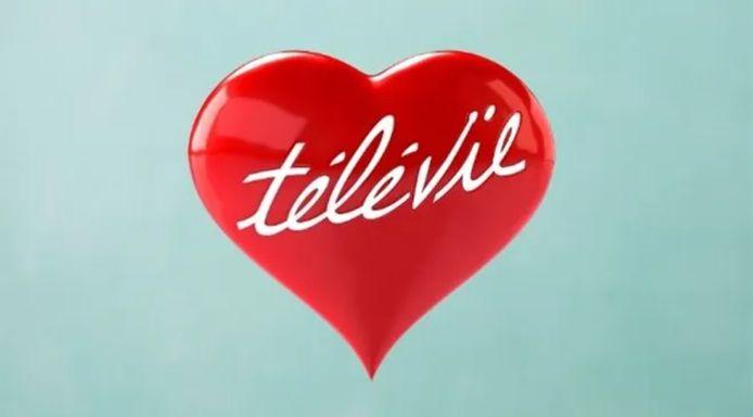Logo van de liefdadigheidsactie Télévie.