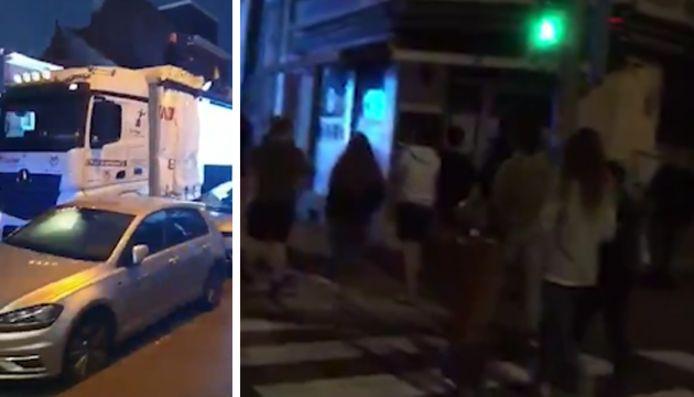 Plusieurs Ucclois sont sortis pour se rapprocher du camion
