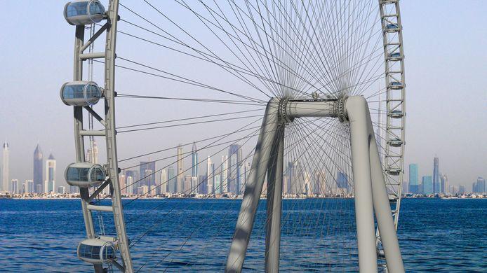KCI uit Schiedam werkt mee aan een reuzenrad in Dubai.
