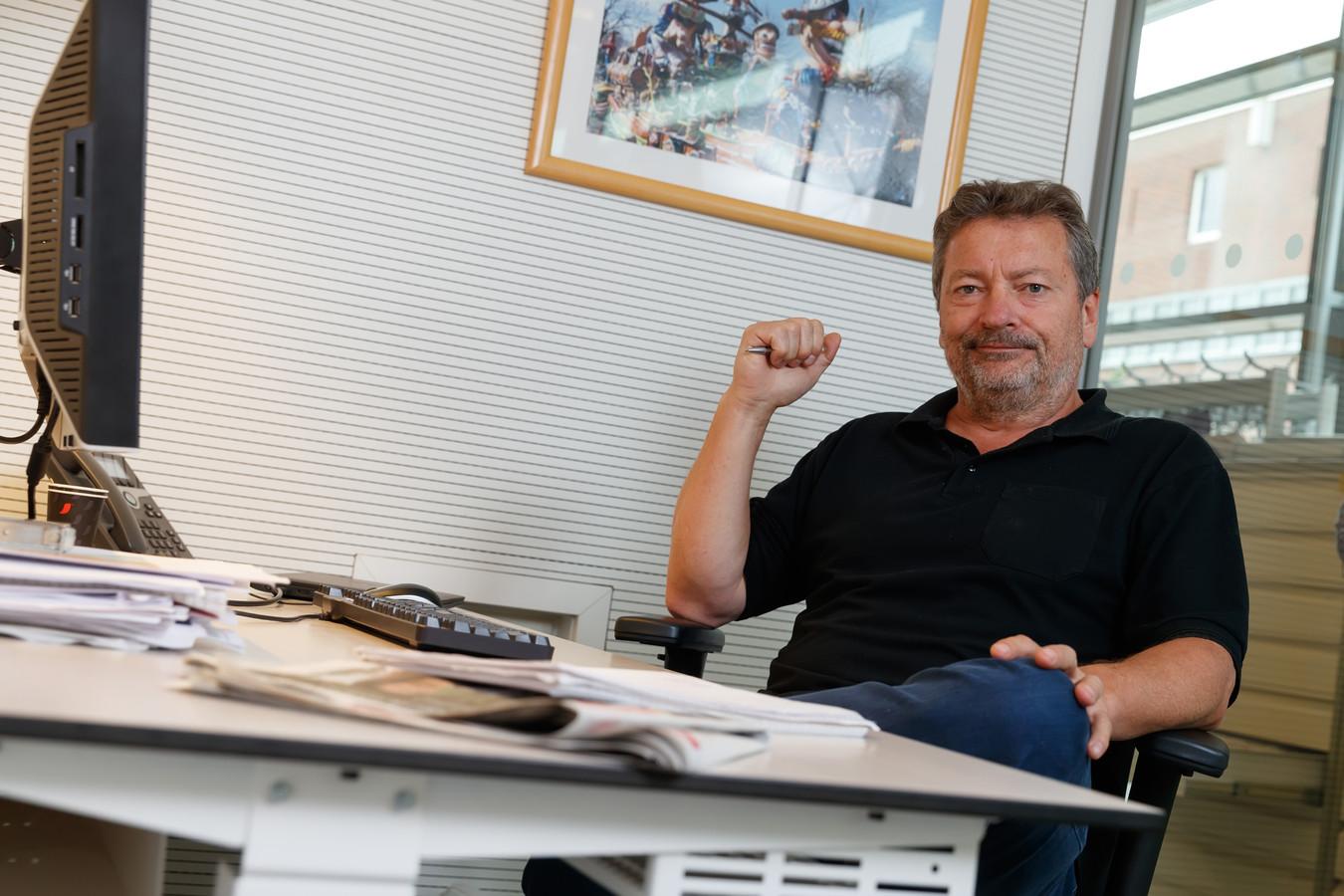 Hessel de Ree is misdaadverslaggever bij deze krant. ,,Ik kan niet zeggen dat ik net zo moedig ben als Peter R. de Vries, die is werkelijk onverschrokken. Maar we blijven overal verslag van doen en gebeurtenissen duiden, want dat is onze taak.''