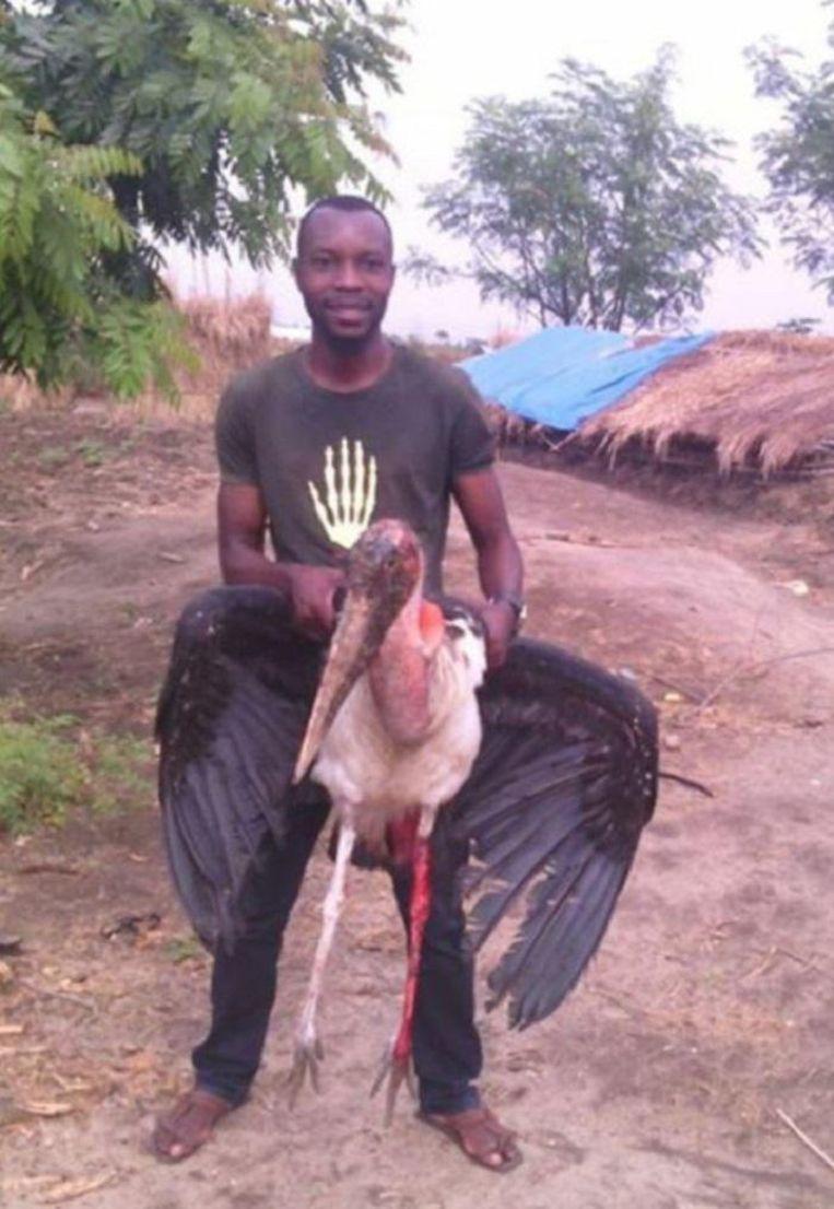 Fidèle Mulonga Mulegalega. Beeld Global Witness