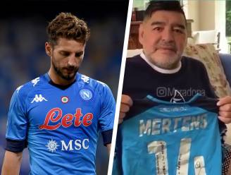"""Ook Dries Mertens treurt om zijn idool Diego Maradona: """"Sorry dat ze me met jou vergeleken"""""""