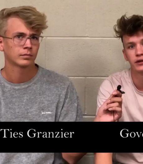 YouTubers Govert en Ties vrijgelaten: 'We hadden meer research moeten doen'