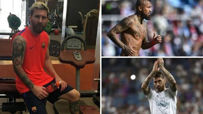 """Duitse professor: """"We moeten tatoeages bij voetballers absoluut verbieden"""""""