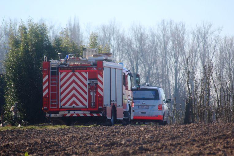 De brandweer en de lokale politie kwamen ter plaatse voor een controle