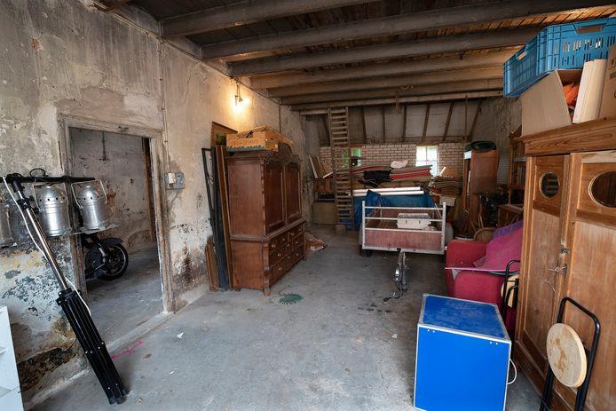 De garage/schuur in hartje Doesburg: het pand is verkocht voor meer dan 175.000 euro. De beoogde kopers gaan er een woonhuis van maken.
