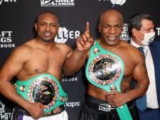 Wedstrijd tussen Tyson en Jones Jr trekt meer betaalde kijkers dan Fury vs Wilder