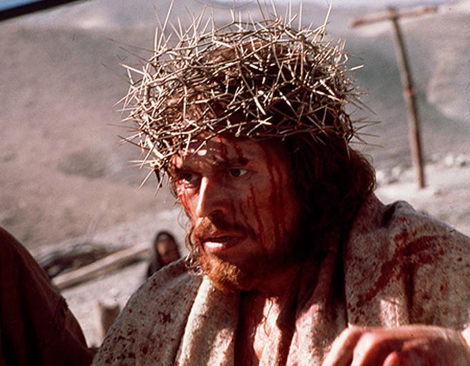 """Willem Dafoe, dans """"La Dernière Tentation du Christ"""", réal. Martin Scorsese, 1988, Universal Pictures."""