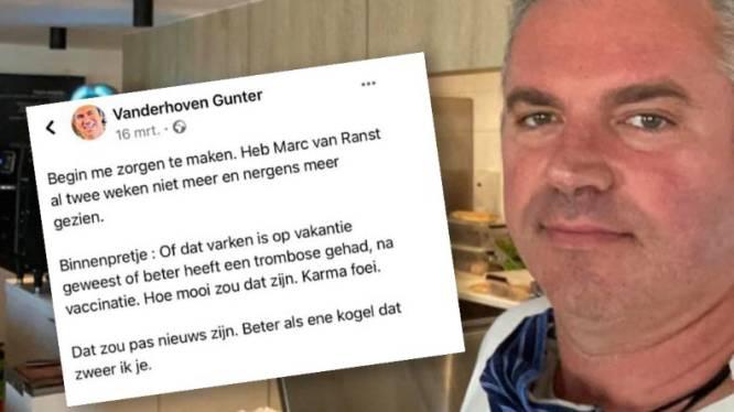 """""""Mij eerst dood wensen en nu babbeltje willen slaan?"""": Van Ranst weigert dialoog met dancinguitbater"""