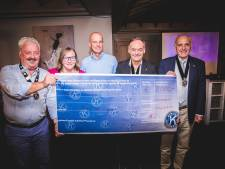 Kiwanis Destelbergen schenkt 2.000 euro aan Break Out