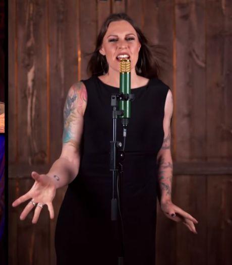 Dit zag je niet in Beste Zangers: Floor Jansen maakt eigen versie van Euphoria