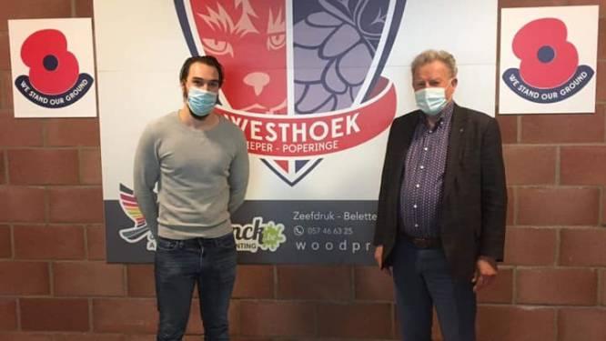 KVK Westhoek trekt met Emilio Roelens (28) uit Helkijn jonge keeperstrainer aan