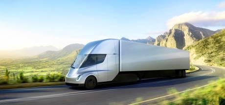 'Tesla begint massaproductie van elektrische vrachtauto's'