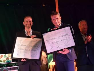 Ninovieters Wesley Sonck en Kevin Van der Perren ingehuldigd als ereburgers
