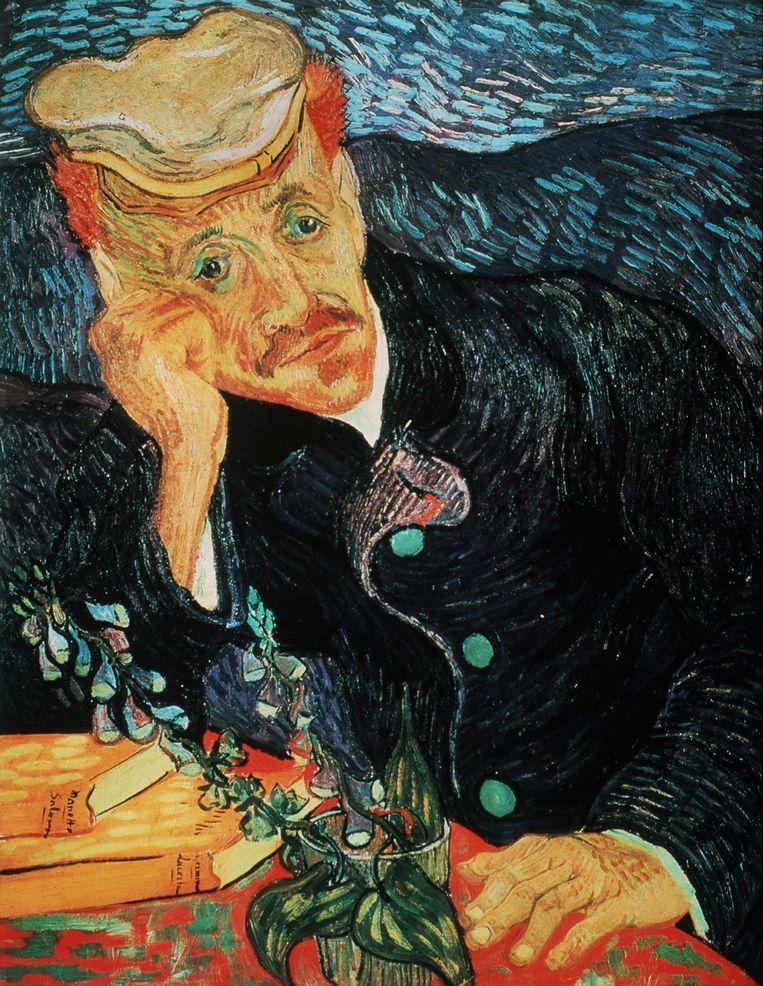 'Portret van Dr. Gachet', geschilderd door Vincent Van Gogh. Beeld PHOTO_NEWS