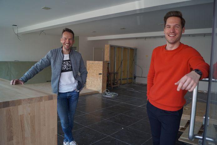 Filip Cammu en Ibe Van den Driessche openen in april de deuren van Frietatelier Poekie.