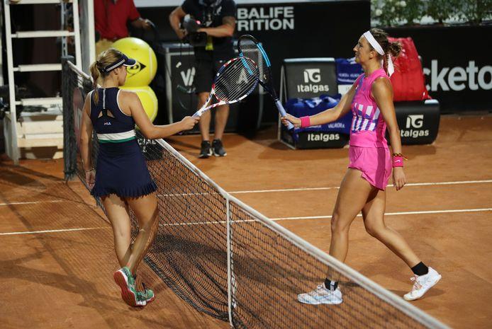 Viktoria Azarenka sans pitié pour la lauréate du dernier Open d'Australie.