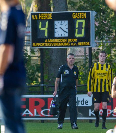 VV Heerde maakt van de eerste thuiswedstrijd op zaterdag een historische gebeurtenis
