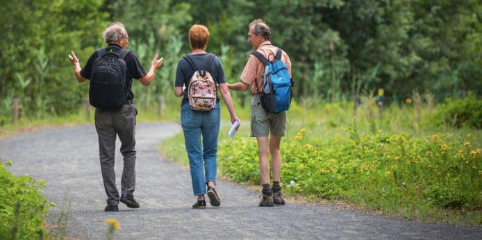 Borgerhout organiseert natuur- en cultuurwandelingen voor Borgerhoutse 55-plussers.