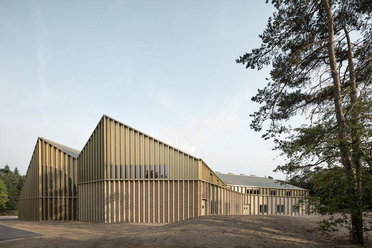 Bezoekerscentrum Park Paviljoen Hoge Veluwe Ontwerp: Monadnock & De Zwarte Hond   Beeld Stijn Bollaert