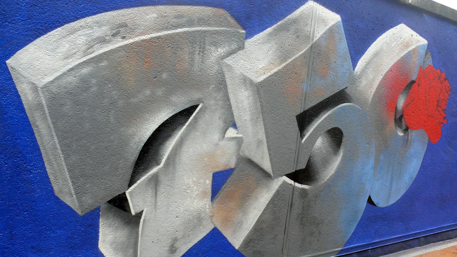 Graffiti-artiesten restylen Kadetunnel voor 750 jaar Roosendaal.