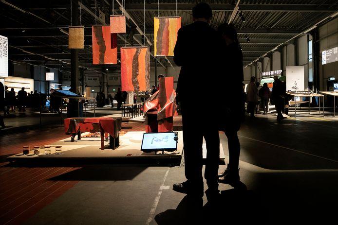 Graduation Show van Design Academy Eindhoven in voormalige Campinafabriek aan Kanaal Zuid
