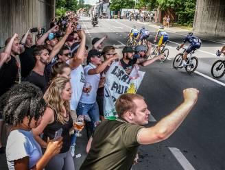 Waregem pikt feestdraad weer op, duizenden uitgelaten toeschouwers genieten van BK wielrennen