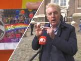 André van Duin slaat munt voor 25 jaar Pride Amsterdam