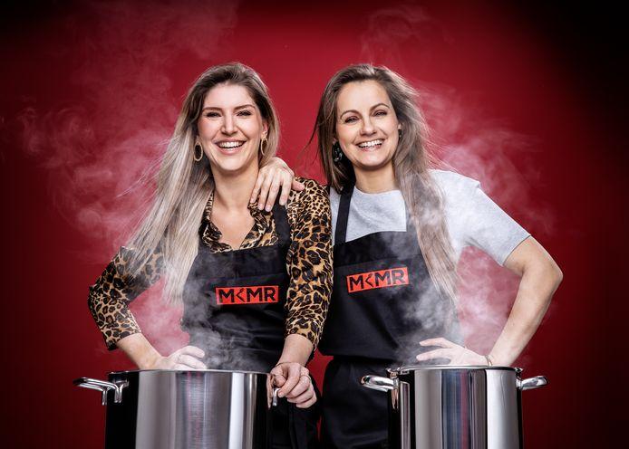 Anne-Sophie De Bock (34) en Mira Ghyllebert (31) uit Overmere en Oostende