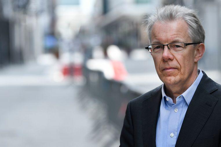 Dominique Michel, gedelegeerd bestuurder van handelsfederatie Comeos. 'We vragen één duidelijke en transparante regeling voor het hele land.' Beeld Photo News