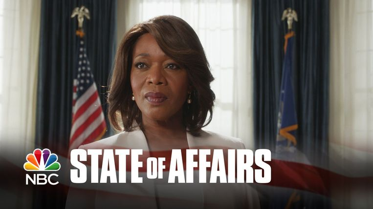 Alfre Woodard als president Constance Payton in State of Affairs. Beeld NBC