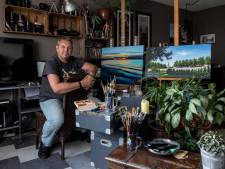Zijn landschapsschilderijen verkopen 'als een tierelier', maar schilderen blijft hobby voor René
