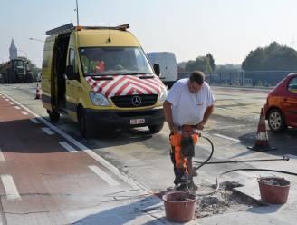Vrijdag 24 uur werken aan oprit Zelzatebrug