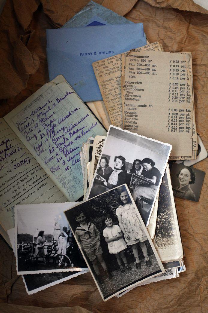 Mary Bendiks was de hartsvriendin van Fanny Philips en woonde tijdens de oorlog een tijdje bij de familie Philips in Huize Muyserick in Vught.