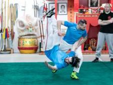 Weekendbeeld: seminar Chinees worstelen