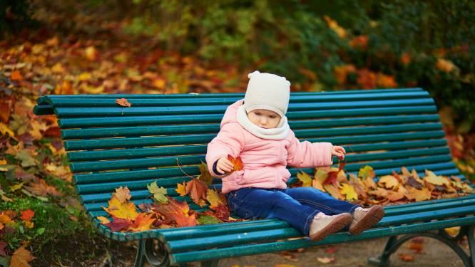 Superzacht herfstweertje met temperaturen tot 17 graden