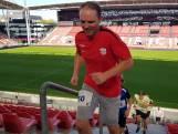 Derk loopt 1620 treden door 'zijn' FC Utrecht-stadion