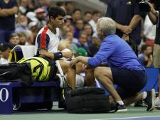 Dramatisch einde US Open voor Spaanse tienersensatie Alcaraz