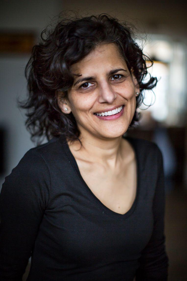 Sheila Sitalsing, columniste bij 'de Volkskrant'. Beeld Hollandse Hoogte / Julius Schrank