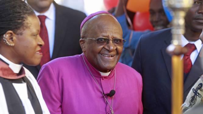 Desmond Tutu vergelijkt Oegandese president met nazi's