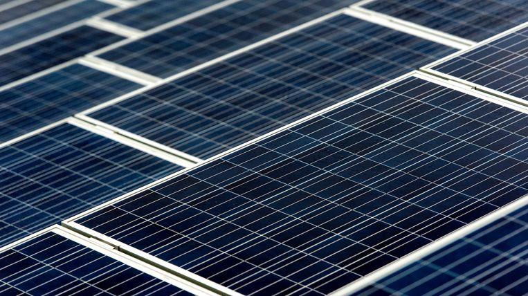 Het nieuwe zonnedak levert genoeg energie om 1250 huishoudens jaarlijks van stroom te voorzien. Beeld ANP