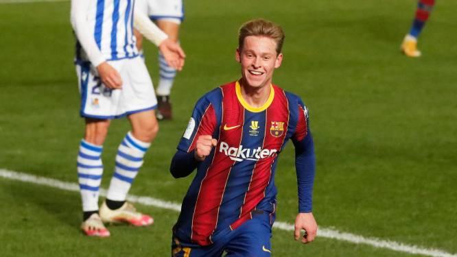 """Lof voor Frenkie de Jong in Spaanse pers nadat Nederlander opnieuw belangrijk is voor Barça: """"Hij was imposant"""""""