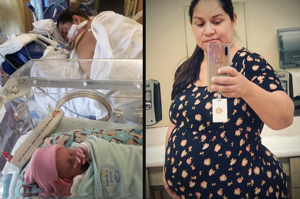 Aurora Chacon Esparza zag haar dochter nooit geboren worden.