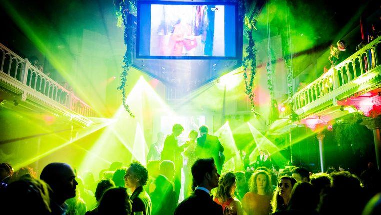 Het Boekenbal vond dit jaar plaats in Paradiso Beeld ANP